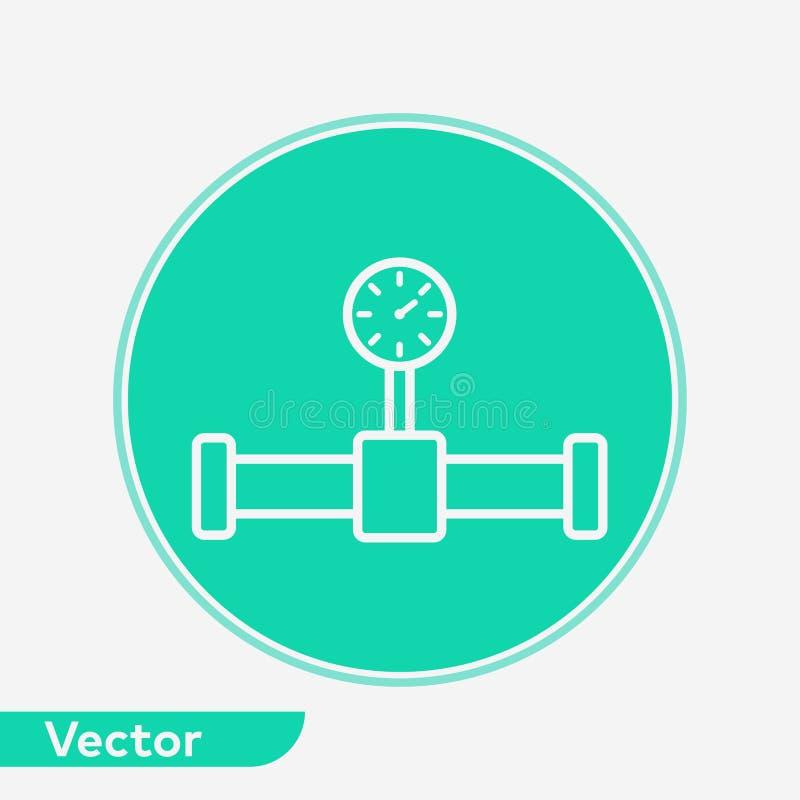 管子传染媒介象标志标志 向量例证