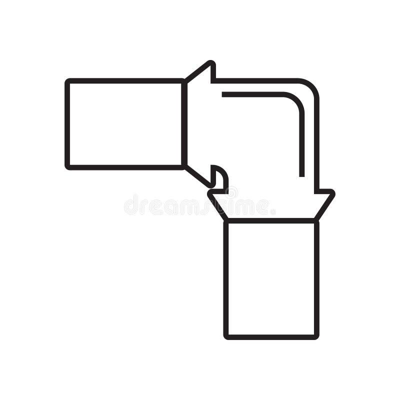 管子象 Constraction工具的元素为流动概念和网应用程序象的 r 库存例证