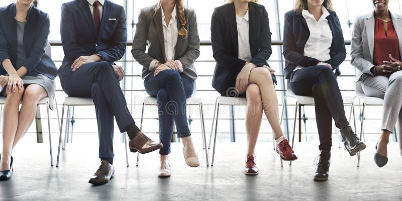 管理事业成就机会概念 免版税库存照片