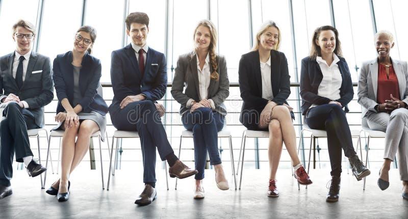 管理事业成就机会概念 免版税库存图片