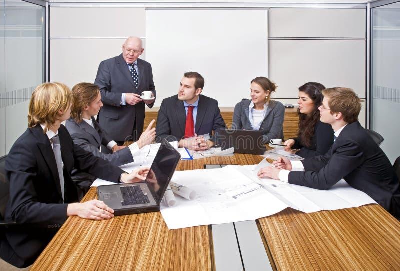 管理会议 库存图片