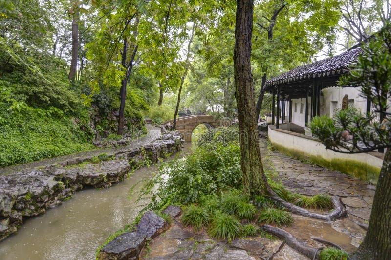 管理员瓷庭院谦逊的s苏州 图库摄影