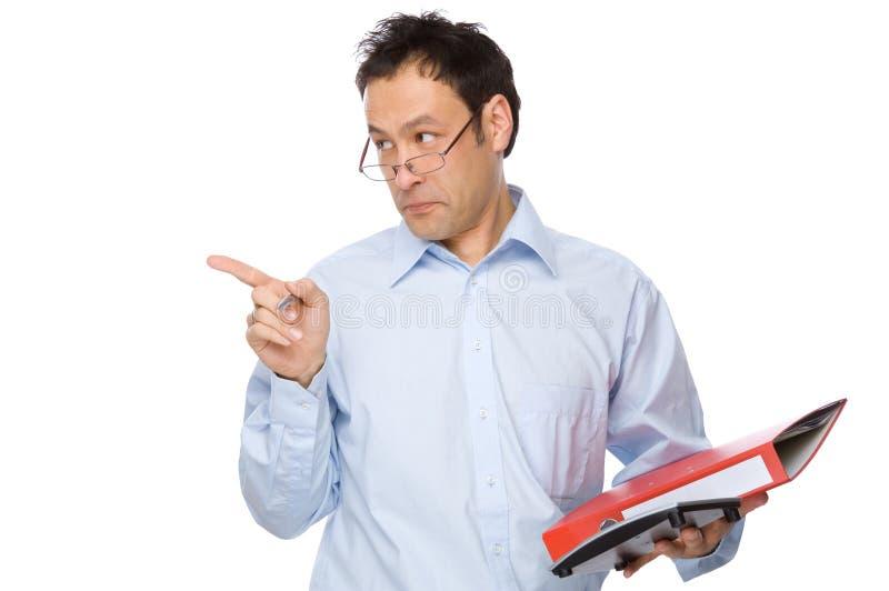 管理员 免版税图库摄影