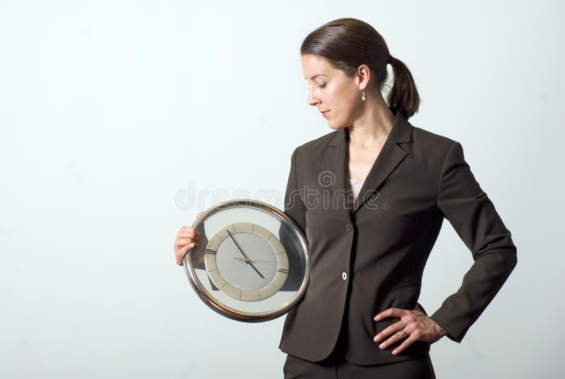 管理时间 免版税库存图片