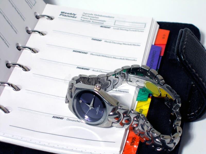 管理时间 免版税库存照片