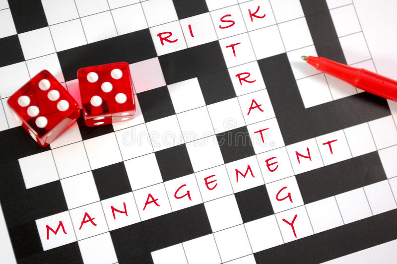 管理风险 免版税库存图片