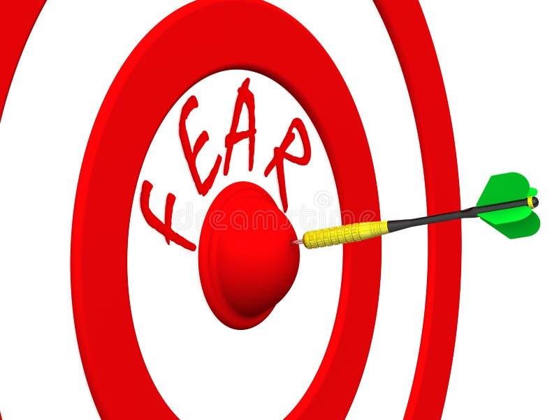 ?? 箭在目标中心 皇族释放例证