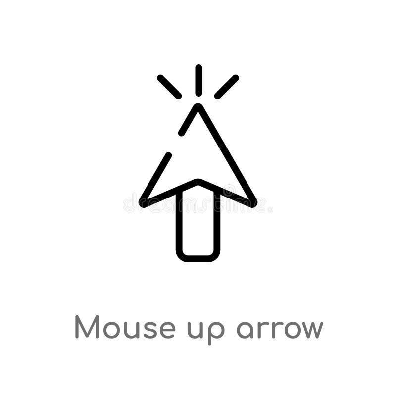 箭头传染媒介象的概述老鼠 E r 皇族释放例证
