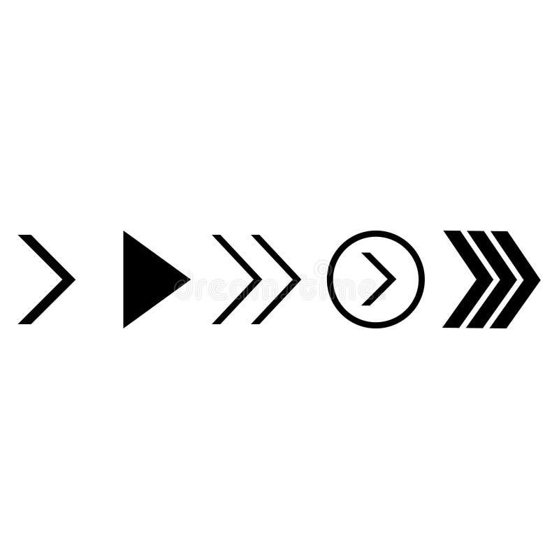 箭头传染媒介象集合 箭头例证标志 箭头象 向量例证
