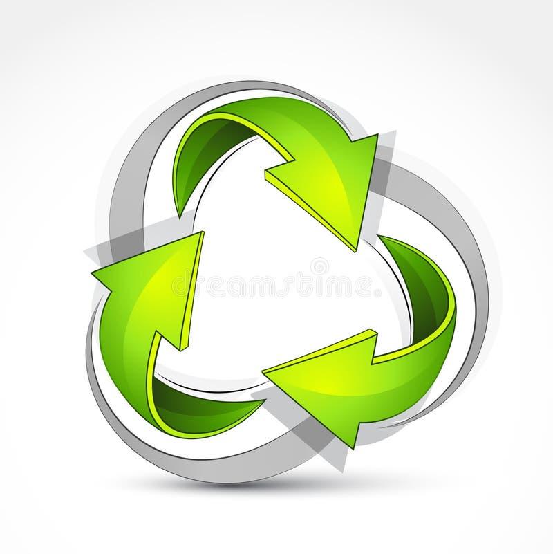 Download 箭头回收 向量例证. 插画 包括有 灰色, 空白, 翻译, 设计, 环境, 线路, 例证, 绿色, 重新使用 - 15695822
