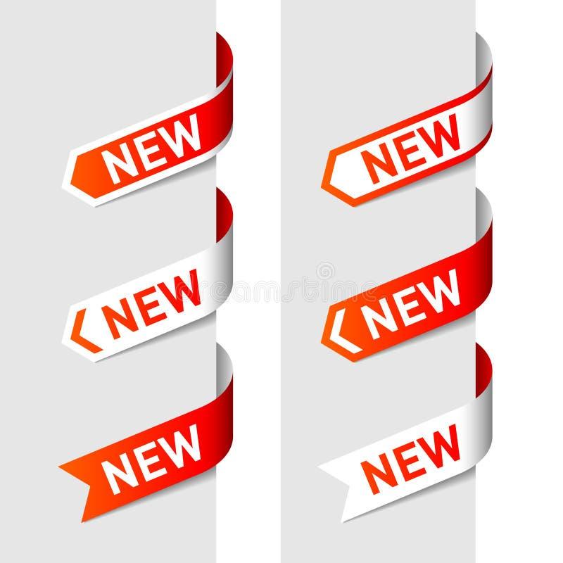 箭头新的符号 向量例证