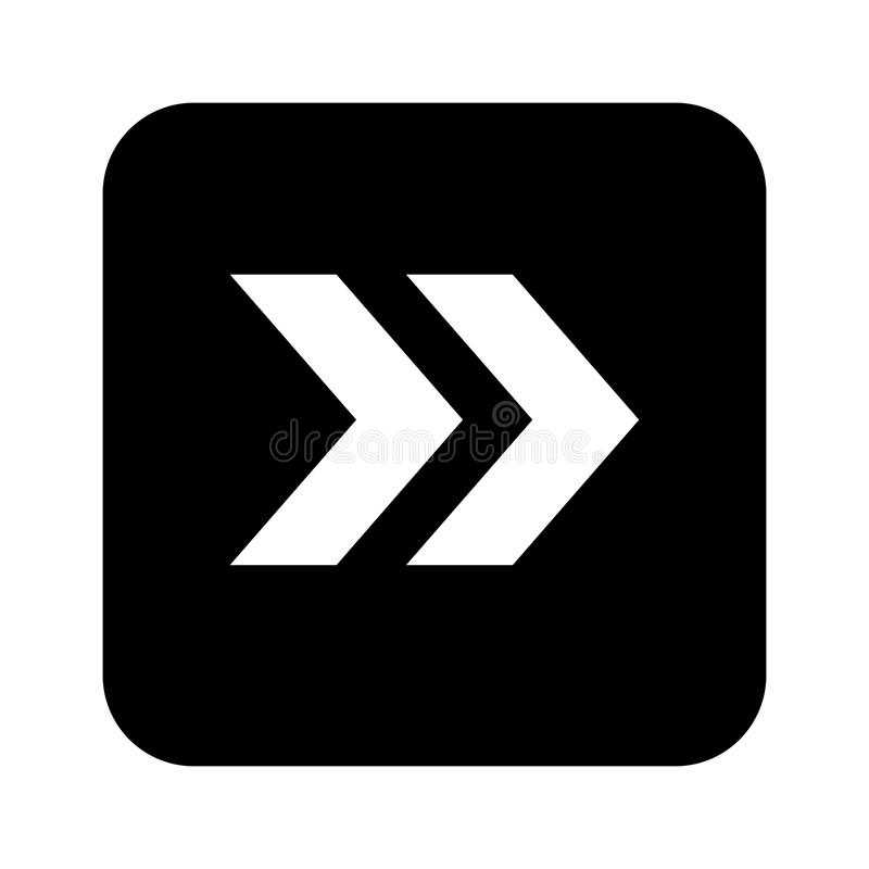 箭头象传染媒介平的设计样式-传染媒介 库存例证