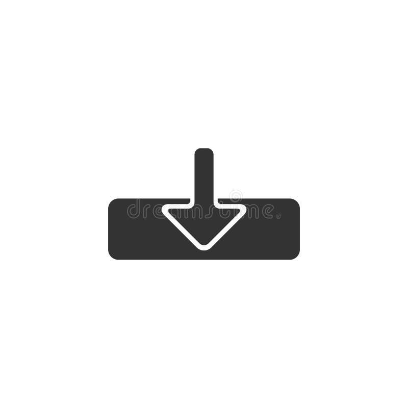 箭头象商标传染媒介模板设计例证 皇族释放例证