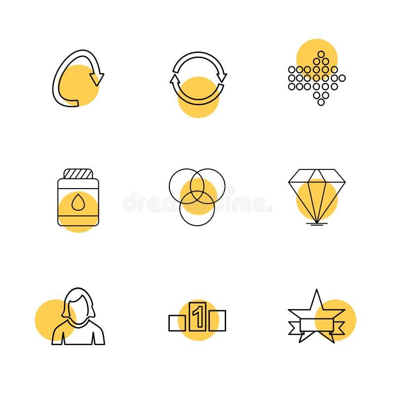 箭头,方向,具体化,下载,加载, apps,用户我 皇族释放例证