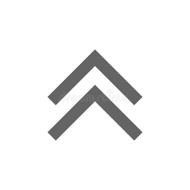 箭头,象 元素箭头象 r r 库存例证