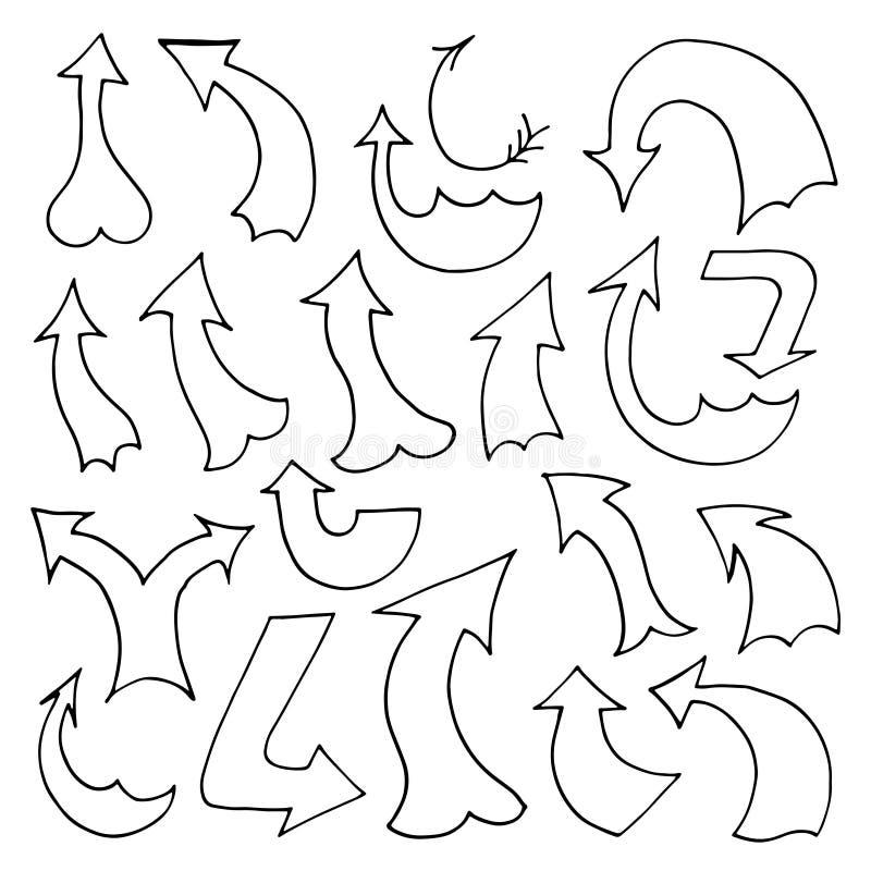 Download 箭头例证集合向量 向量例证. 插画 包括有 投反对票, 箭头, 索引, 卷曲, 该死, 游标, 圈子, 线路 - 59100186