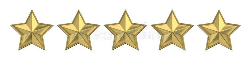 箭头概念评估高图象鼠标解决方法投票 对估计的五金黄星 3d回报 库存例证