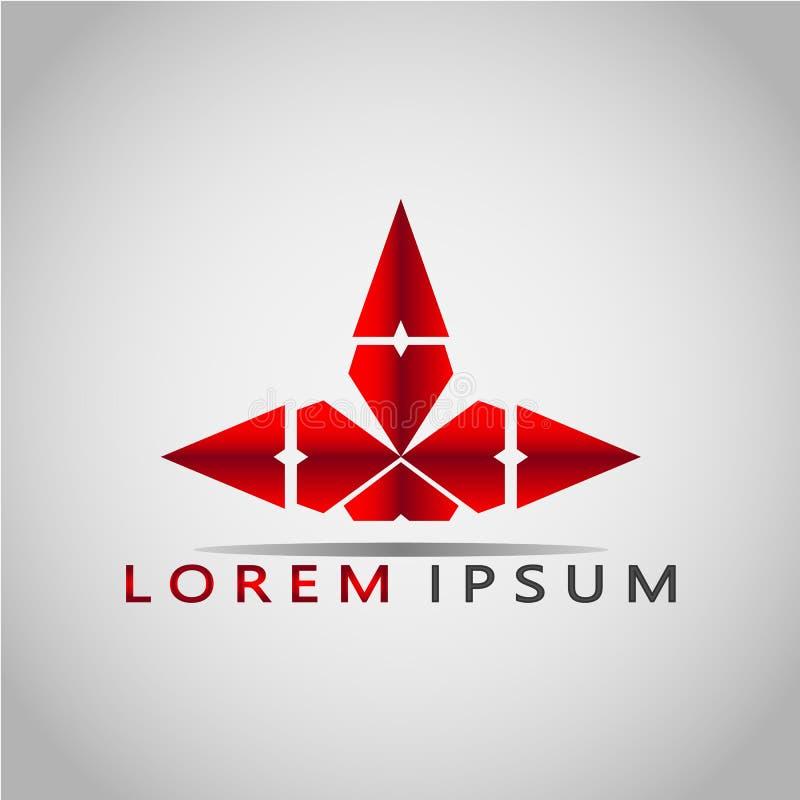 箭头LOREM IPSUM 2017 7 图库摄影