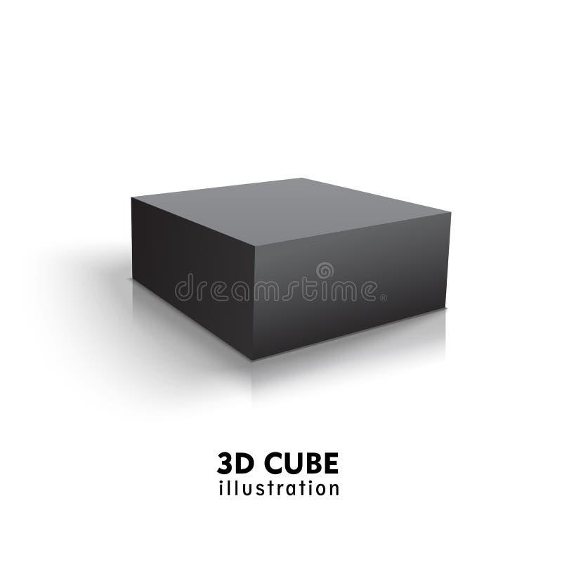 箱子黑色象 : r 皇族释放例证