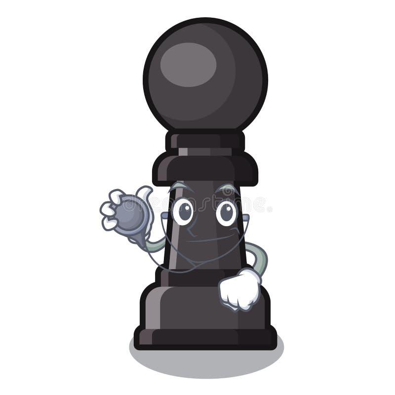 篡改棋典当隔绝与动画片 皇族释放例证