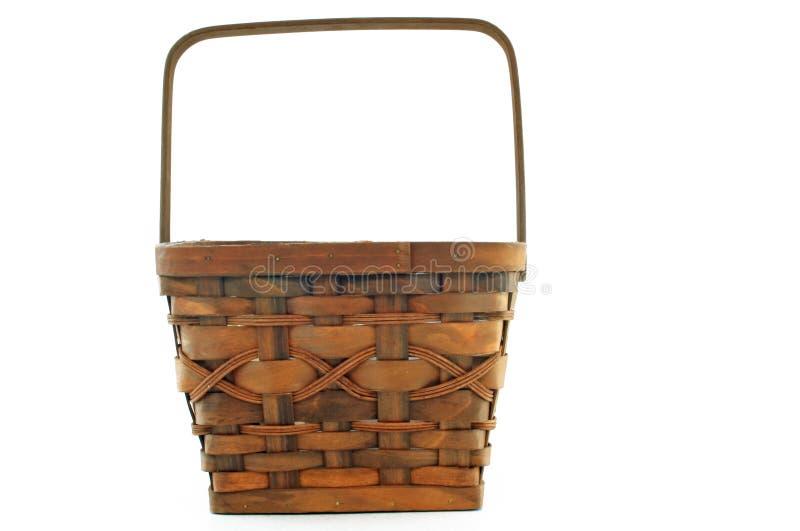 篮子大褐色 免版税库存图片