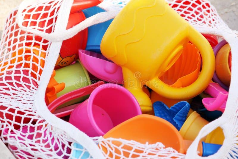 篮子玩具 免版税库存照片
