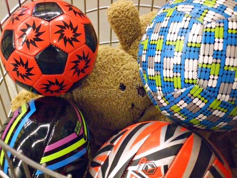 篮子玩具 免版税图库摄影