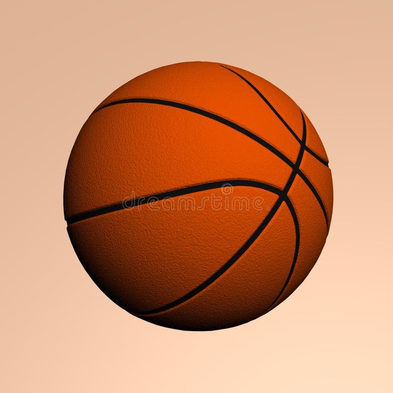 篮子球 免版税图库摄影