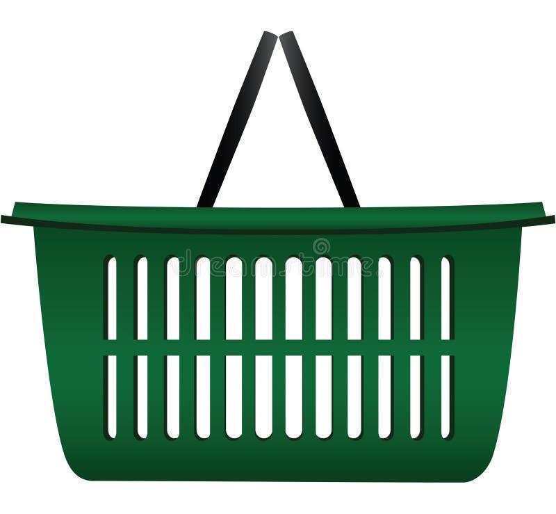 篮子购物车 库存例证