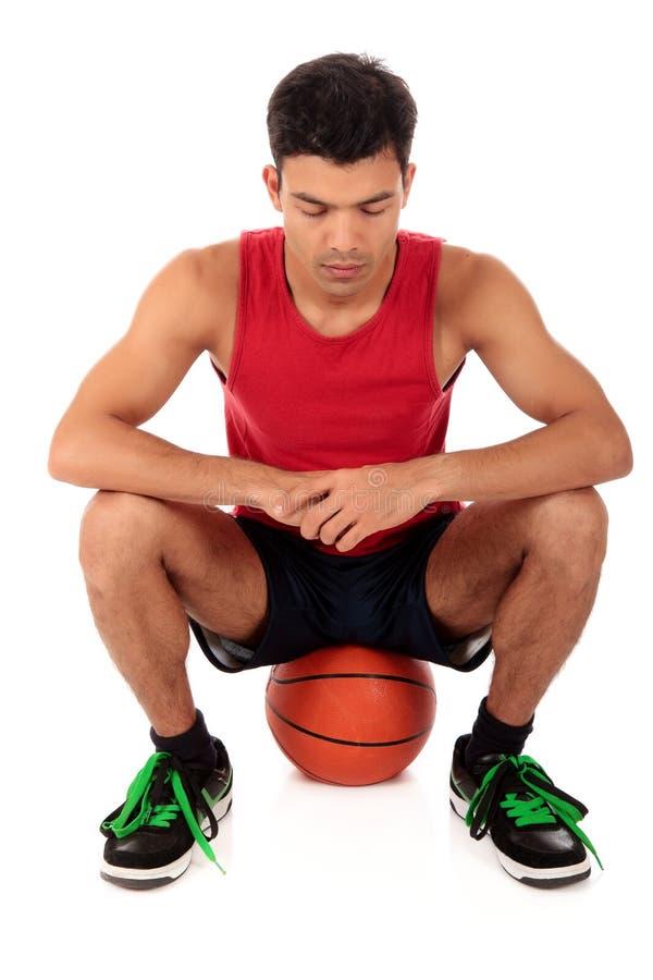 篮球人尼泊尔球员 免版税库存照片