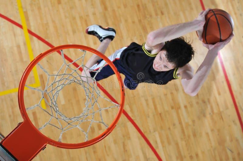 篮球人 库存照片