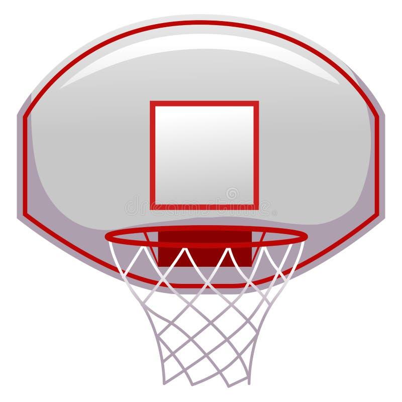 篮球圆环 向量例证