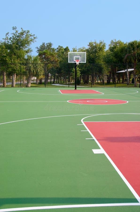 篮球场 图库摄影