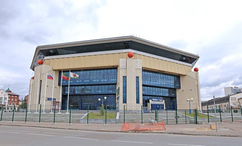 篮球宫殿在喀山 免版税库存图片