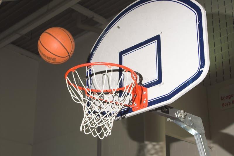 篮球射击 库存照片