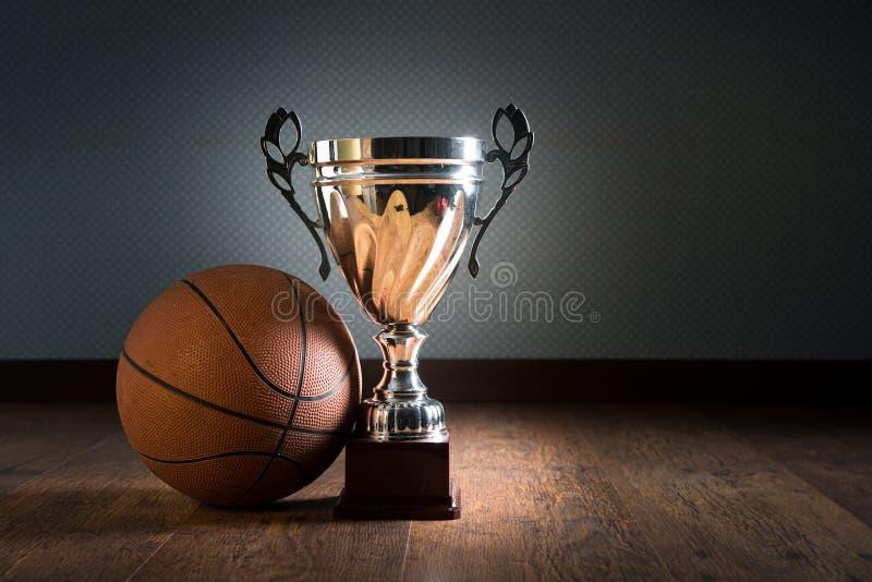 篮球战利品 库存图片