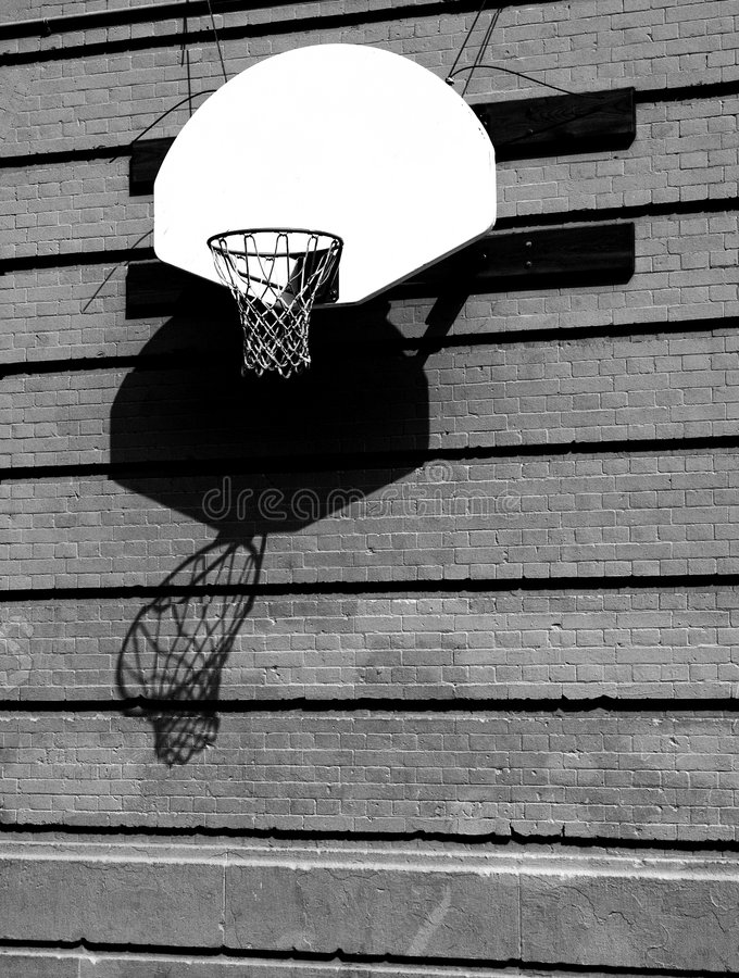 篮球梦想 库存照片