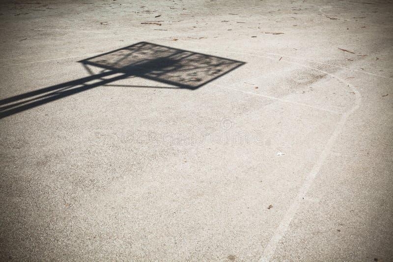 篮球概念操场学校体育运动 免版税库存图片