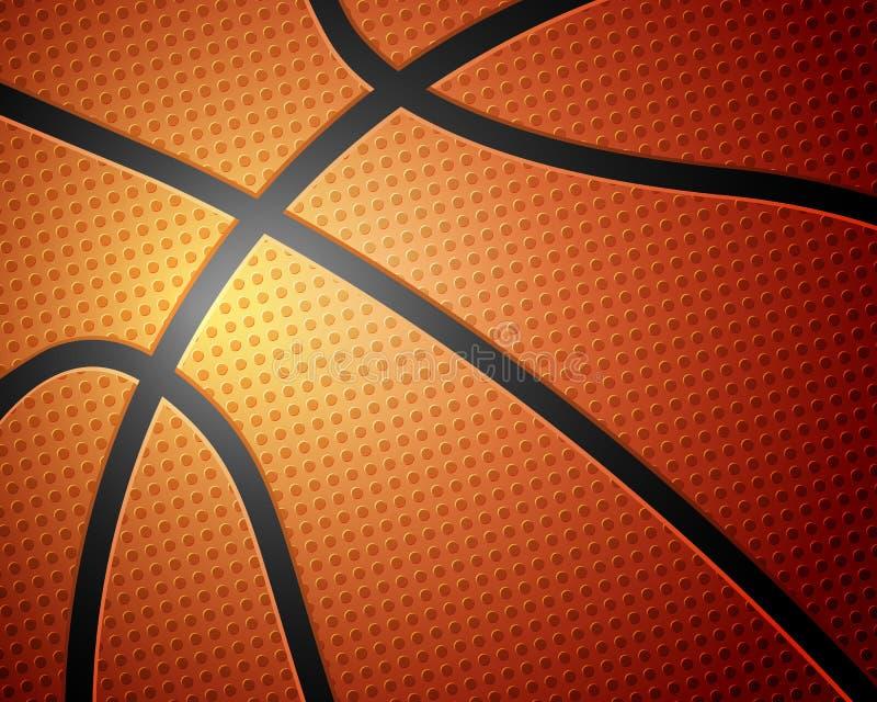 篮球球背景 向量例证