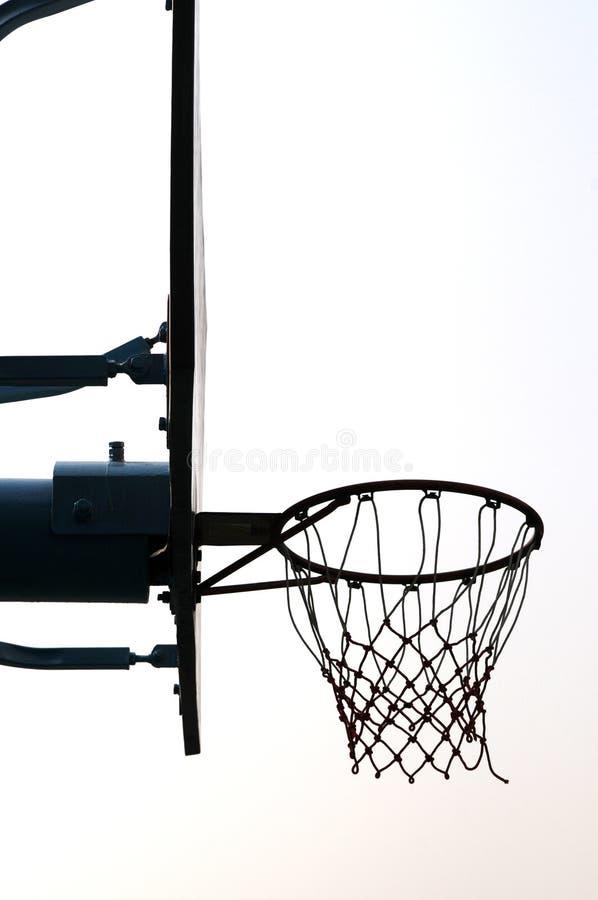 篮球立场 库存图片