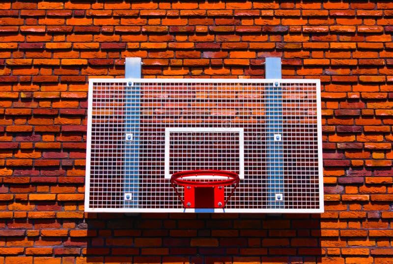 篮球篮子 库存图片