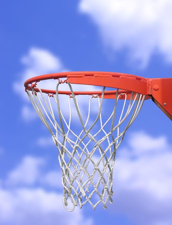 篮球篮 库存照片