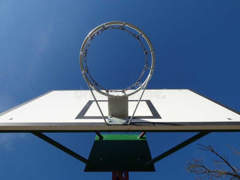 篮球链圆环木板 库存照片