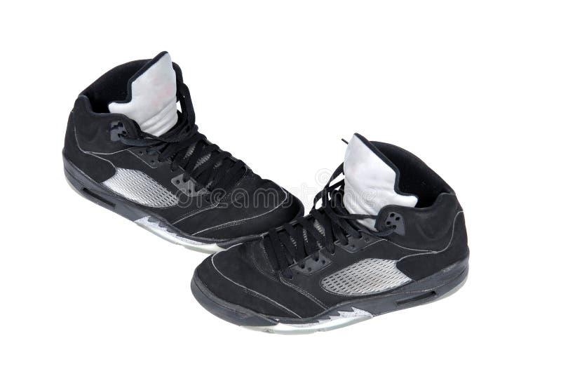 篮球鞋 库存图片