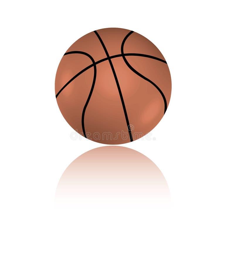 篮球 库存例证