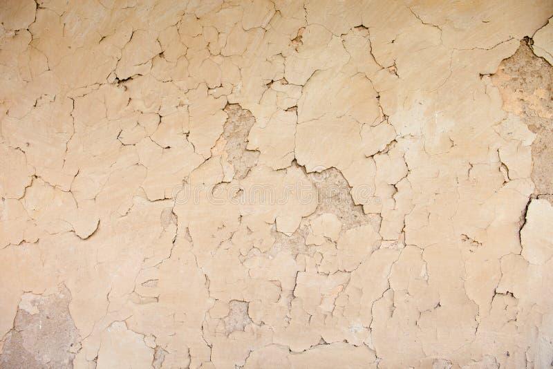 篱笆条和涂抹墙壁纹理 库存图片