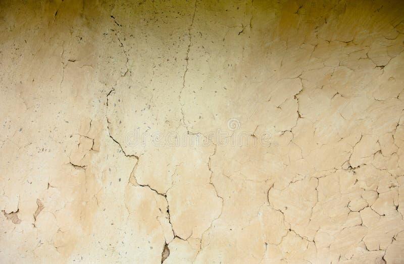 篱笆条和涂抹墙壁纹理 图库摄影