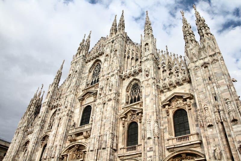 米兰主教座堂 库存图片