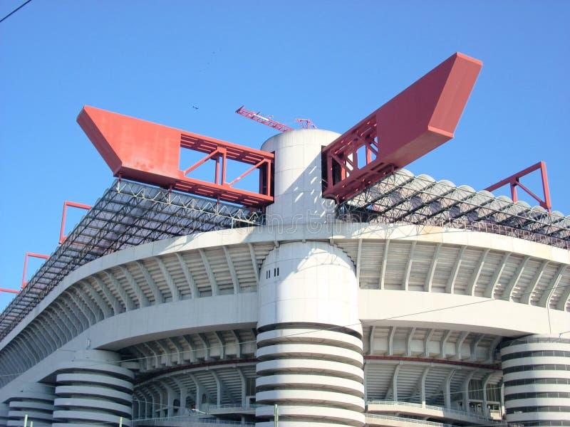 米兰体育场 免版税图库摄影
