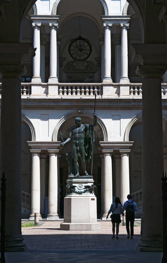 米兰,伦巴第,意大利,北意大利,欧洲 免版税库存照片